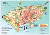 das stadtplan von lindau centrum